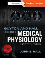 Guyton and Hall Textbook of Medical Physiology 13th Revised edition