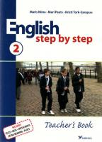 ENGLISH STEP BY STEP 2 TEACHER'S BOOK