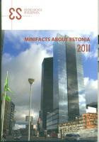 Minifacts about Estonia 2011 (reference book)
