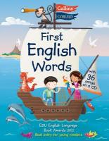First English Words (Incl. audio CD): Age 3-7, First English Words: Age 3-7