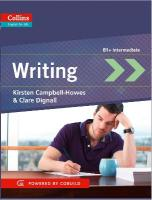 Writing: B1plus, Writing: B1plus, Skills