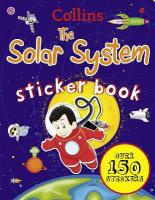 Collins Solar System Sticker Book, Collins Solar System Sticker Book