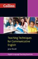 Collins Teaching Essentials - Teaching Techniques for Communicative English