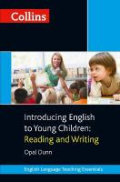 Introducing English to Young Children: Reading and Writing, Introducing English to Young Children: Reading and Writing
