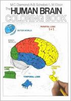 Human Brain Coloring Book illustrated edition