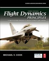Flight Dynamics Principles: A Linear Systems Approach to Aircraft Stability and Control 3rd Revised edition