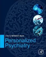 Personalized Psychiatry