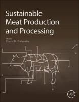 Sustainable Meat Production and Processing