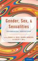 Gender, Sex, and Sexualities: Psychological Perspectives