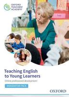 Teaching English to Young Learners Moderator Code Card: Online Professional Development