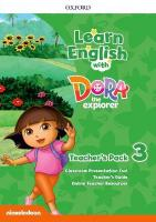 Learn English with Dora the Explorer: Level 3: Teacher's Pack