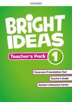Bright Ideas: Level 1: Teacher's Pack: Inspire curiosity, inspire achievement