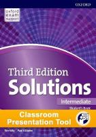 Solutions: Intermediate: Classroom Presentation Tool: Leading the way to success 3rd Revised edition