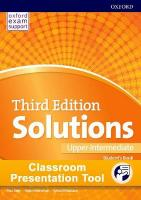 Solutions: Upper-Intermediate: Classroom Presentation Tool: Leading the way to success 3rd Revised edition
