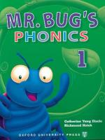 Mr Bug's Phonics: 1: Student Book, Level 1, Student Book