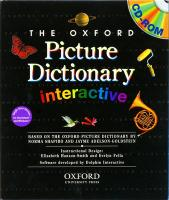 Oxford Interactive Picture Dictionary, Single User Licence