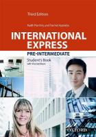 International Express: Pre-Intermediate: Student's Book Pack 3rd Revised edition
