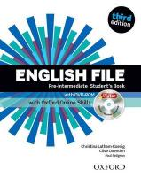 English File third edition: Pre-intermediate: Student's Book with iTutor and   Online Skills 3rd Revised edition