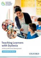 Teaching Learners with Dyslexia Moderator Code Card