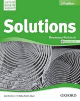 Solutions: Elementary: Workbook and Audio CD Pack 2nd Revised edition