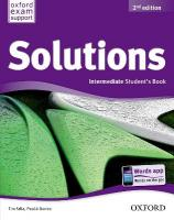 Solutions: Intermediate: Student's Book 2nd Revised edition