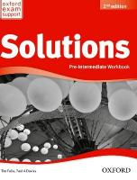 Solutions: Pre-Intermediate: Workbook 2nd Revised edition