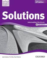 Solutions: Intermediate: Workbook and Audio CD Pack 2nd Revised edition