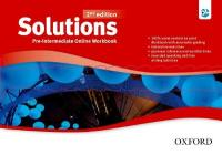 Solutions: Pre-Intermediate: Online Workbook - Card with Access Code 2nd Revised edition