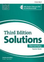 Solutions Elementary Essentials: Teachers Book & Resource Disc Pack 3rd Revised edition