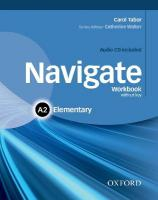 Navigate: A2 Elementary: Workbook with CD (without key), Workbook