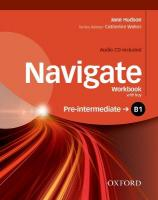 Navigate: B1 Pre-intermediate: Workbook with CD (with key), Workbook