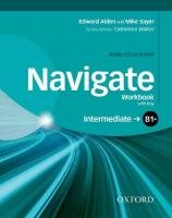 Navigate: B1plus Intermediate: Workbook with CD (without key)