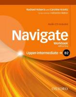 Navigate: B2 Upper-Intermediate: Workbook with CD (without key): Your direct route to English success, Workbook
