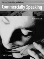 Commercially Speaking: Student's Book, Student's Book