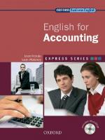 Express Series: English for Accounting: A Short, Specialist English Course, Student's Book Pack