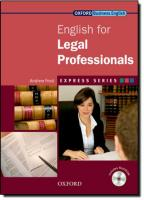 Express Series: English for Legal Professionals: A short, specialist English course, Express Series: English for Legal Professionals Student's Book and MultiROM   Pack