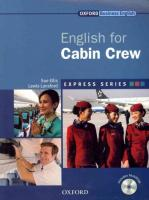 Express Series English for Cabin Crew: A short, specialist English course, Express Series English for Cabin Crew Student Book Pack