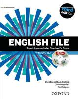 English File third edition: Pre-intermediate: Student's Book with iTutor: The best way to get your students talking 3rd Revised edition