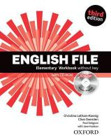 English File third edition: Elementary: Workbook with iChecker without key 3rd Revised edition
