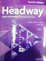 New Headway: Upper-Intermediate B2: Workbook  with Key: A new digital era for the world's most trusted English course 4th Revised edition