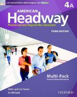 American Headway 4 A Multi Pack 3rd Revised edition
