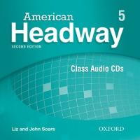 American Headway: Level 5: Class Audio CDs (3) 2nd Revised edition, Level 5, Class Audio CDs