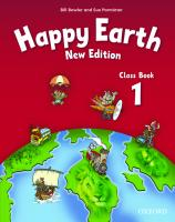Happy Earth: 1 New Edition: Class Book Revised ed., Level 1, Class Book