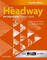 New Headway: Pre-Intermediate A2-B1: Teacher's Book plus Teacher's Resource Disc: The world's most trusted English course 4th Revised edition