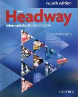 New Headway: Intermediate B1: Student's Book : The world's most trusted English course 4th Revised edition