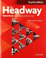 New Headway: Elementary: Workbook plus Without Key: General English 4th Revised edition, Elementary level