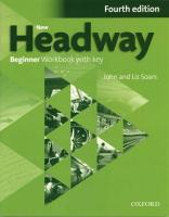 New Headway: Beginner A1: Workbook plus iChecker with Key: The world's most trusted English course 4th Revised edition