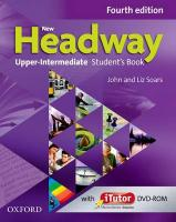 New Headway: Upper-Intermediate B2: Student's Book and iTutor Pack: The world's most trusted English course 4th Revised edition