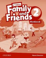 Family and Friends: Level 2: Workbook 2nd Revised edition