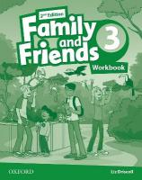 Family and Friends: Level 3: Workbook 2nd Revised edition